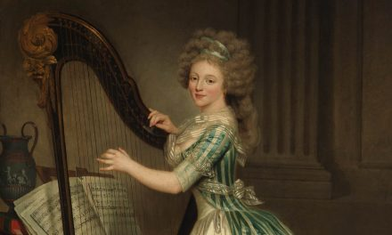 1791 – Rose Adélaïde Ducreux, Self-Portrait with a Harp