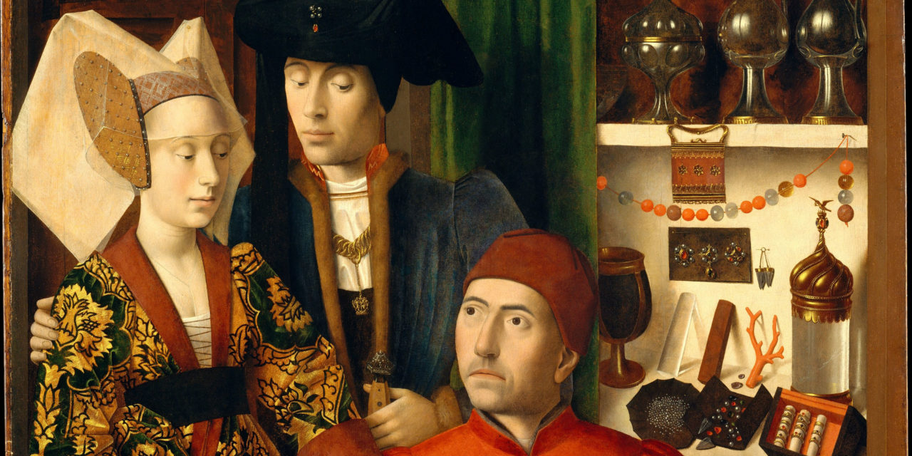 1449 – Petrus Christus, A Goldsmith in his Shop