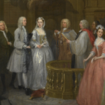 1729 – William Hogarth, The Wedding of Stephen Beckingham and Mary Cox