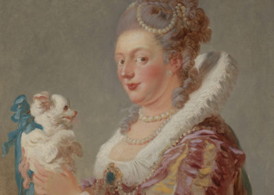 1769 – Jean Honore Fragonard, A Woman With a Dog